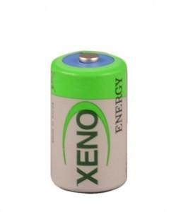Half AA lithium battery