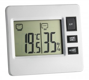 AL13 temperature and humidity display