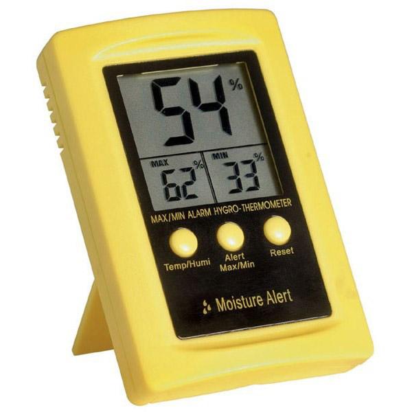 HK100 temperature and humidity display