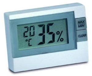 HK55 temperature and humidity display