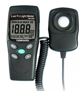TM202 light meter