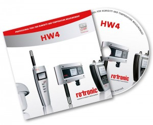 Rotronic HW4 Lite software